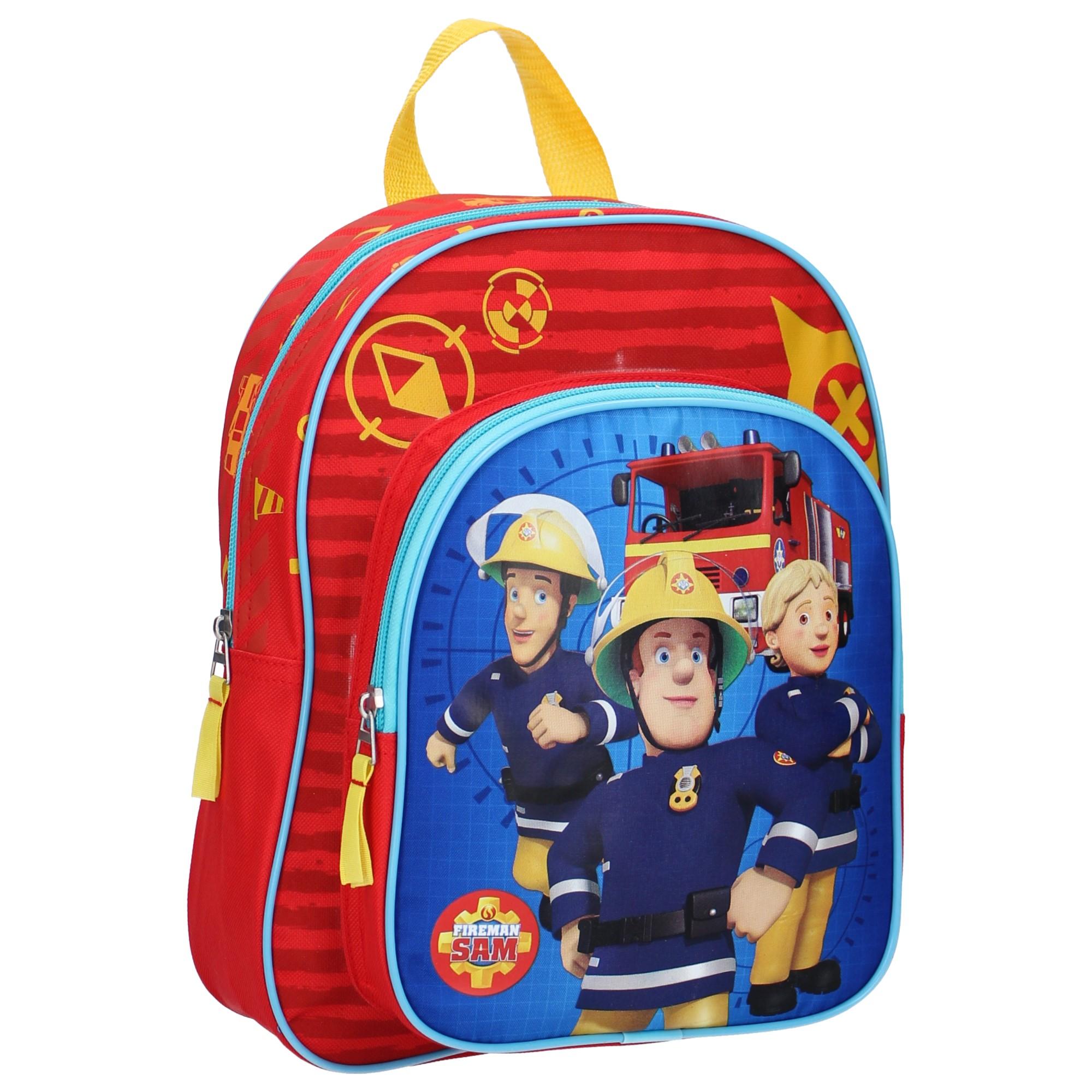Fireman Sam Sac /à dos Sam le pompier